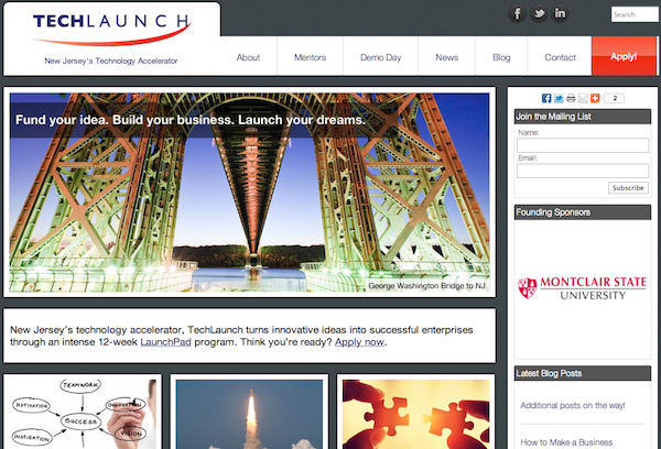 Techlaunch Screenshot